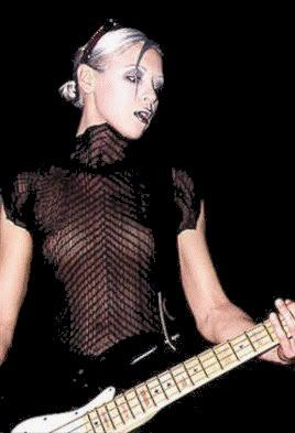 D'arcy Wretzky of the Smashing Pumpkins