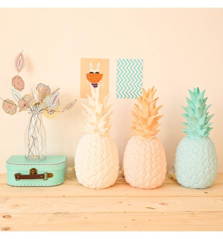 Lampe Veilleuse ananas mint poudré Goodnight light