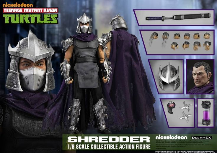Teenage Mutant Ninja Turtles Shredder 1/6 Scale Figure by DreamEX - The Toyark - News