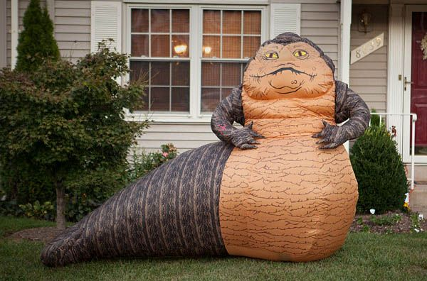 Jabba el Hutt inflable, a tamaño real »  No Puedo Creer