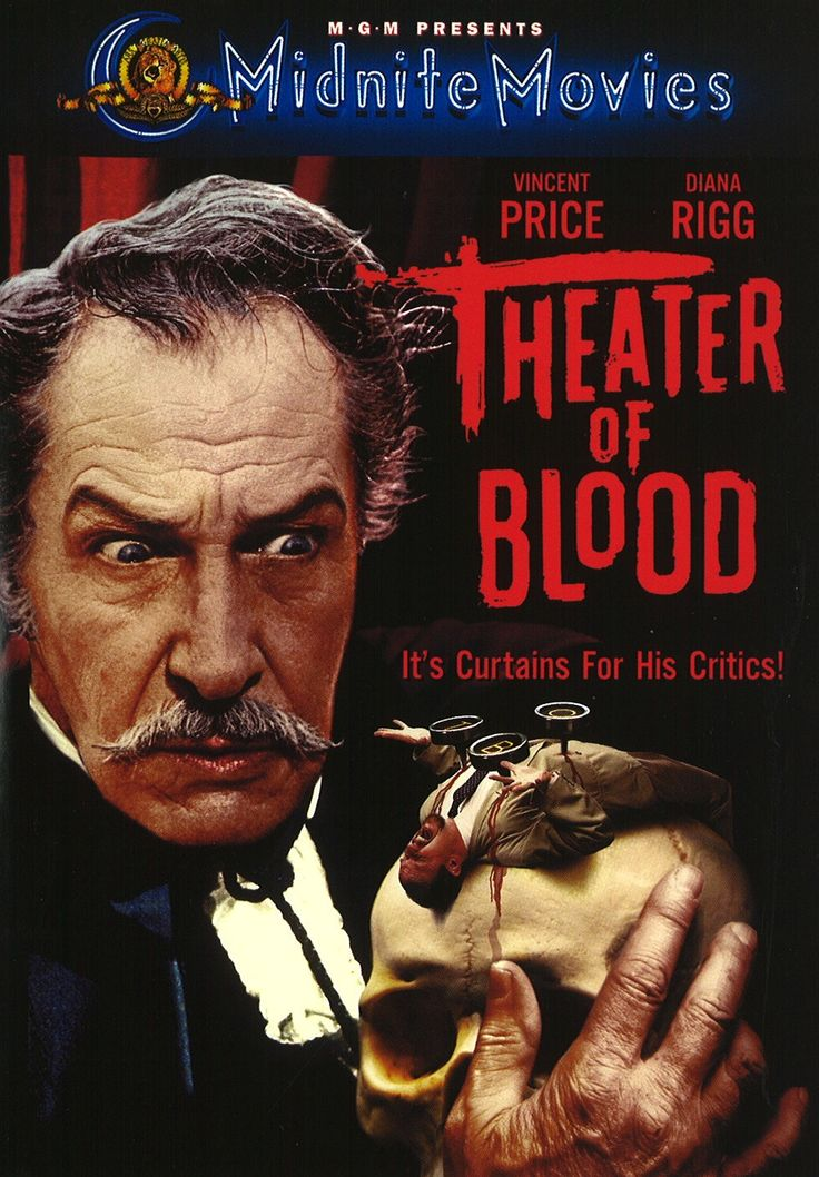 Vincent Price Theater of Blood | Theatre of Blood . Dir. Douglas Hickox. Perf. Vincent Price and Diana ...