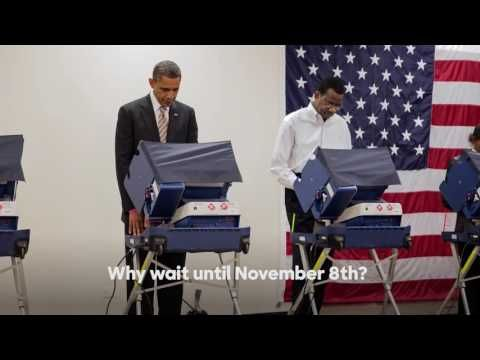 President Barack Obama Urges Early Voting in Hilarious New Clinton Ad   I Agree To See