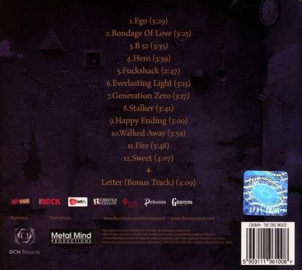 Okładka albumu (tył)