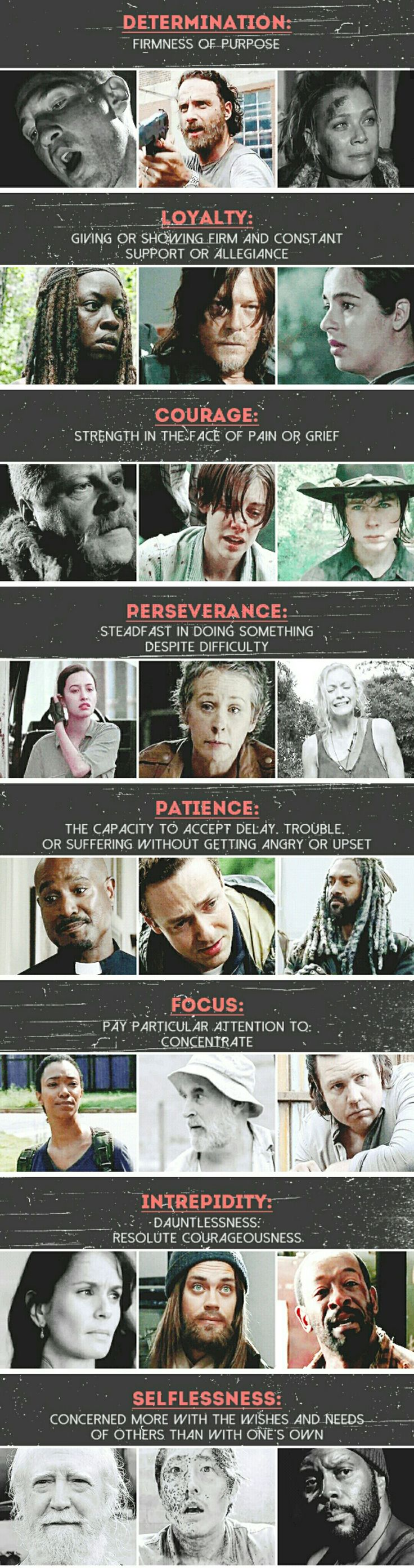 Qualities of a Hero #TWD