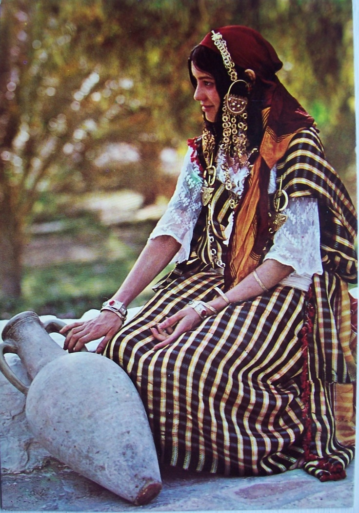 Africa | South Tunisian woman. Postcard is not dated.