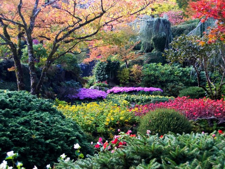 Butchart Gardens, Brentwood Bay, Canada  18 Of The World's Most Beautiful Gardens – BoredBug