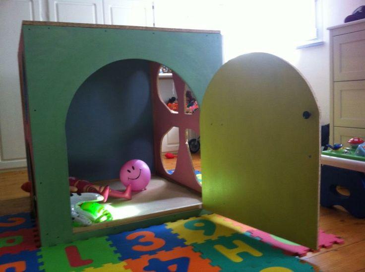 tana per bambini  : casina delle fate  den for children: little house fairy