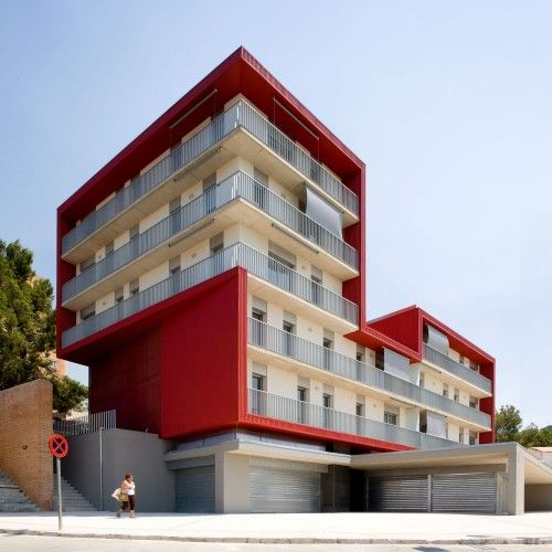 Social Housing Building in Tarragona