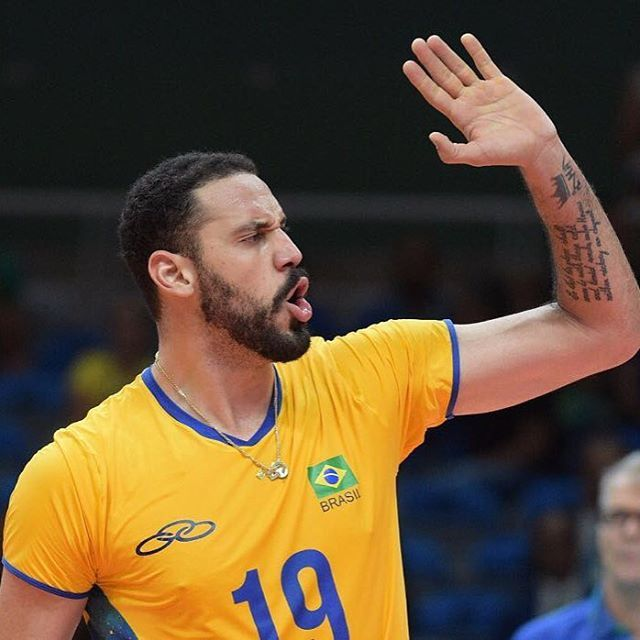 🏆Barba, cabelo & Bigode (Especial Olimpíadas 2016): O jogador Mauricio Borges (@borges5)  da seleção brasileira de vôlei ● #GBinspira #Rio2016 #Olympics