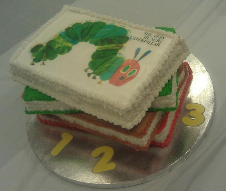 1000+ Ideas About Hungry Caterpillar Cake On Pinterest