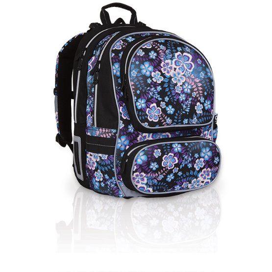 Školní batoh Topgal - CHI 746A černá | Delmas.cz - kabelky, peněženky, pánské tašky, cestovní zavazadla