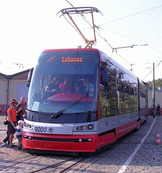 tram 'Skoda'