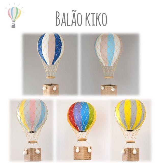 Nossos balões...❤️Lindos, lúdicos e diferentes! Deixam a decoração única e muito mais charmosa! Se quiser outra cor, mande um e-mail para contato@ideiasdemamae.com.br.  Disponível na nossa loja online (www.ideiasdemamae.com.br) na seção Móbiles e Balões #decoraçãoinfantil #decoraçãocriativa #quartodecriança #quartoinfantil #quartodebebê #balão #balãokiko #detalhes #ideiasdiferentes #ideiasdemamãe