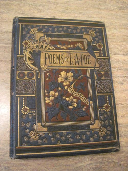 antique book | Poems by E.A.Poe