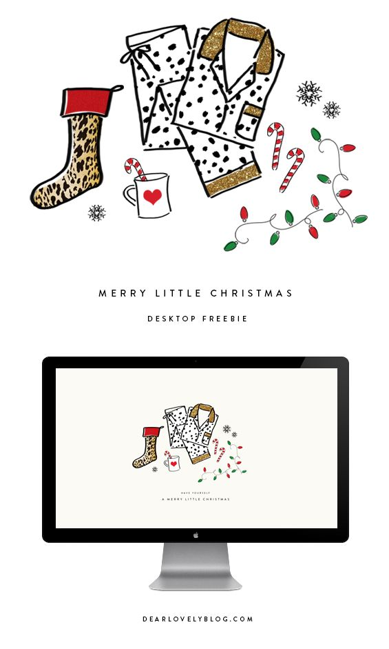 Merry Little Christmas Free Desktop Download