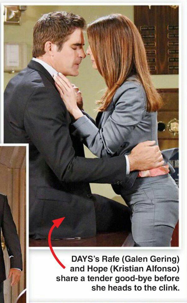 Kristian Alfonso and Galen Gering #Daysofourlives #DOOL #Days #Rope