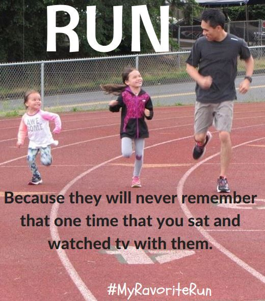 There's nothing better than fatherly advice, especially when it's as simple as one foot in front of the other. #Run #KidsRun