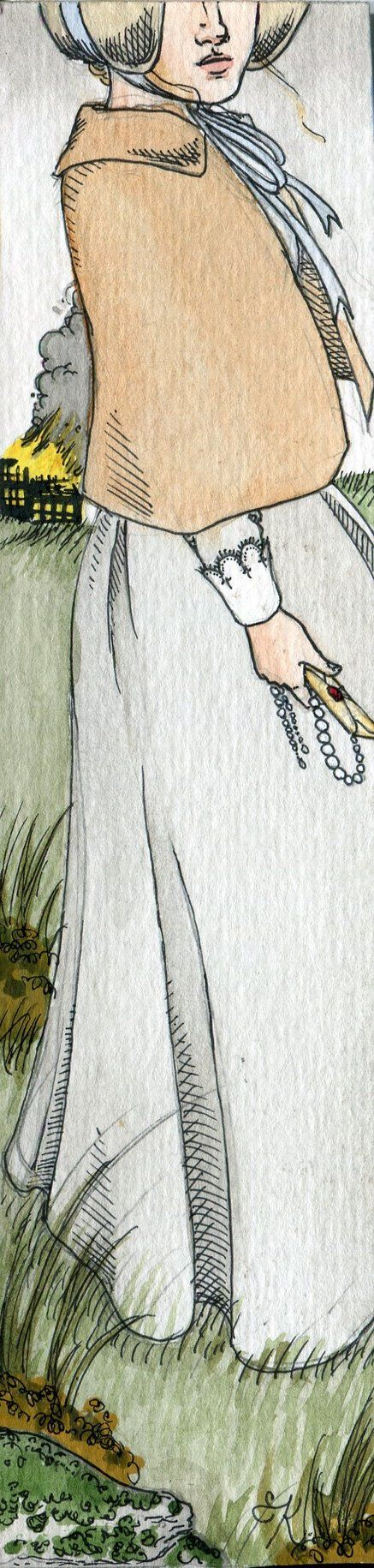 Jane Eyre Bookmark by Kitty-Grimm on deviantART