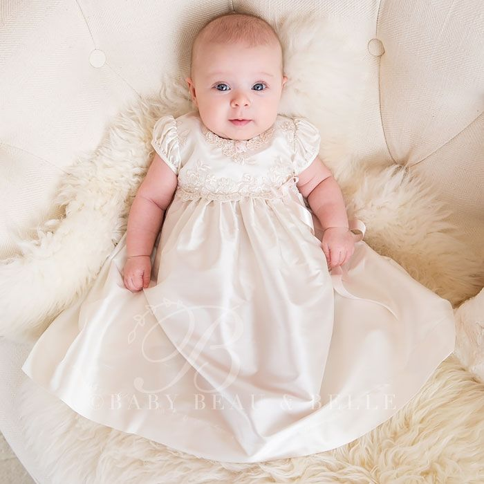 Cinderella Christening Gowns Girls: Penelope Christening Dress & Bloomers