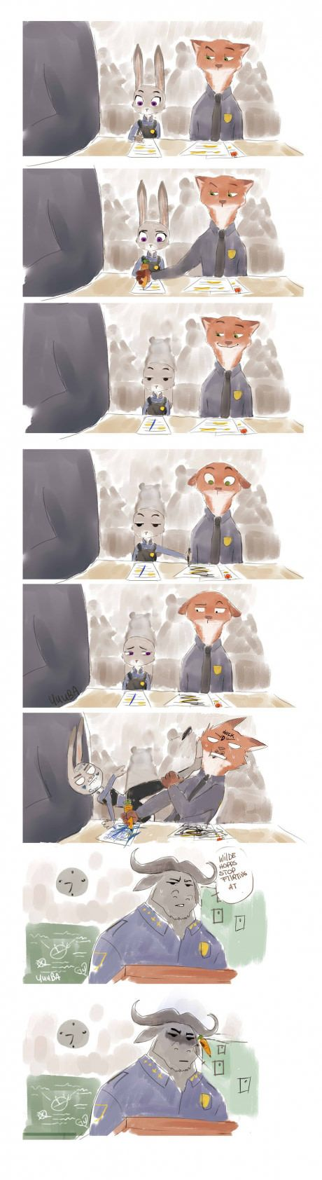 Another nice Zootopia comic by an unknown artist