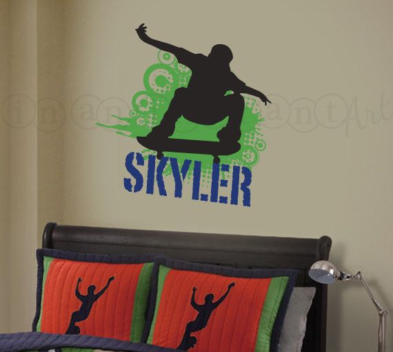 Skateboard Decorations 37 best skateboard decorations for boys room images on pinterest