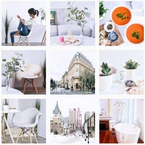 Mid-February Instagram Palette  #instagram #february #thehomemakerslife