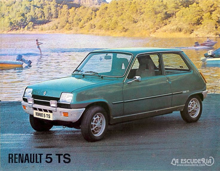 Imagen promocional del R5 TS de 1975