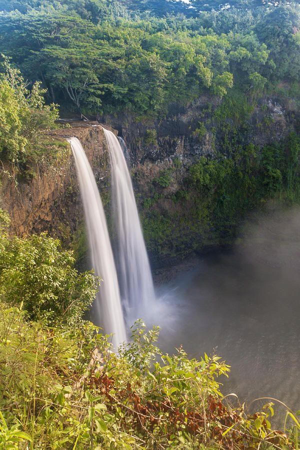 ✯ Wailua Falls - Kauai, Hawaii ✯ワイルア滝 - カウアイ、ハワイ