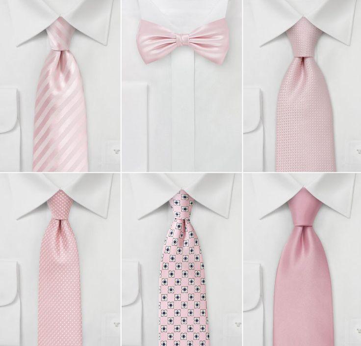 Find wedding ties to match your wedding colors. We have ties to match 250+ unique bridesmaids dress colors. Petal pink, mint, blush and much, much more.