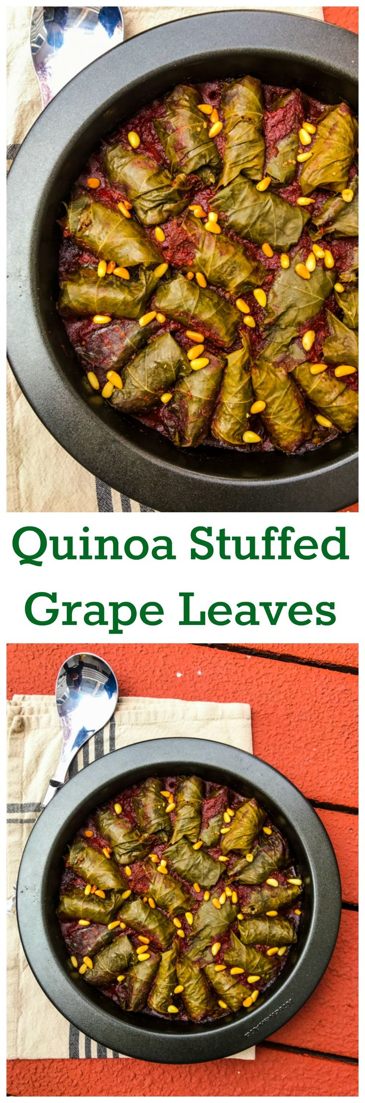Not Just For Passover Quinoa Stuffed Grape Leaves In Red Wine Sauce