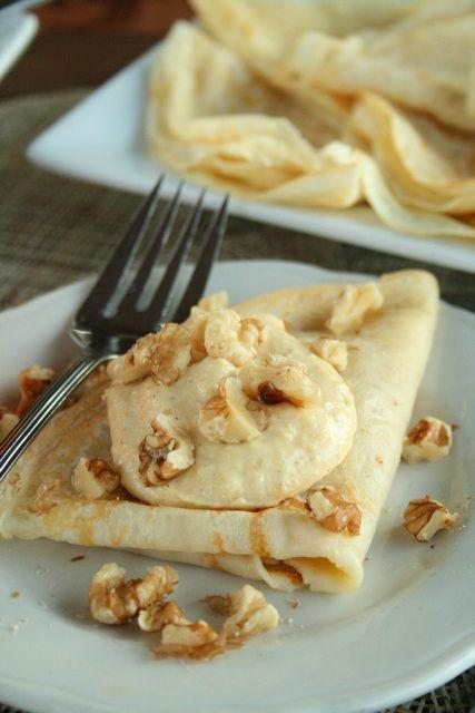 pumpkin cream cheese-topped cinnamon vanilla crepes...definitely.