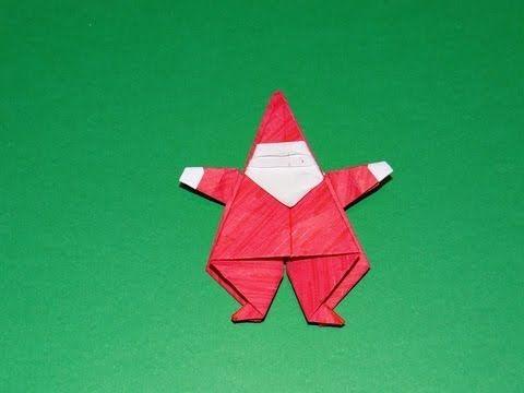 Christmas Origami: Santa and Elf - YouTube