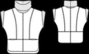 Schnittmuster: Kasack - Leder - Jacken und Mäntel - Damen - burda style 132-102012-DL
