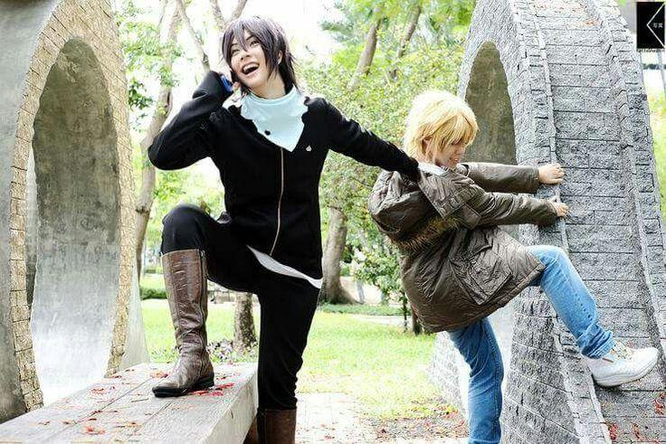 Cosplay Yato y Yukine (Noragami)