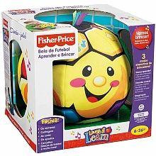 Fisher Price - Bola de Futbol Aprender e Jogar