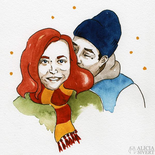 Kärleksfullt porträtt av Alicia Sivertsson