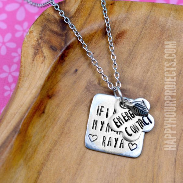 17 best images about diy jewelry metal stamping for How to make hand stamped jewelry