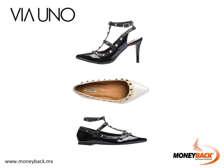MONEYBACK MEXICO. VIA UNO is a brand of women's footwear and clothing accessories with many models of boots, tennis, sneakers, flats and high heels designed with the most innovative current fashion trends. Shop VIA UNO in Mexico, it's a business affiliated to Moneyback! #moneyback www.moneyback.mx