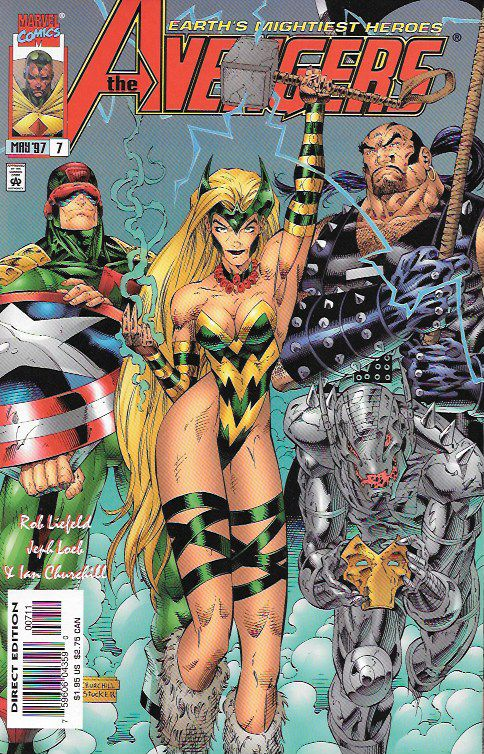 "Loki, Lethal Legion Pt.1""Help!"" __Written by Rob Liefeld and Jim Valentino, Jeph Loeb m Art by Ian Churchill , Larry Stucker . Cover by Ian Churchill, The Story __ Earth's Mightiest Heroes may have ju"