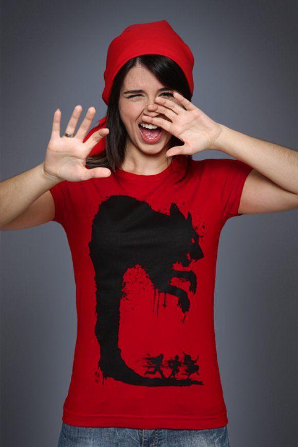 Camiseta Lobo Mau