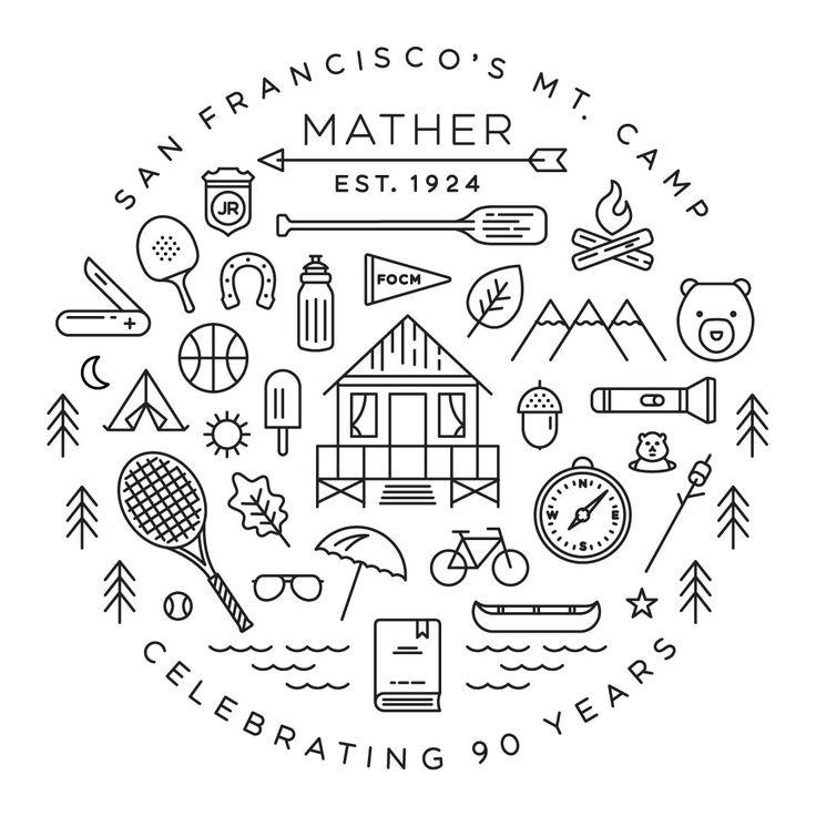 Camp Mather T-Shirt, 2014 #icons