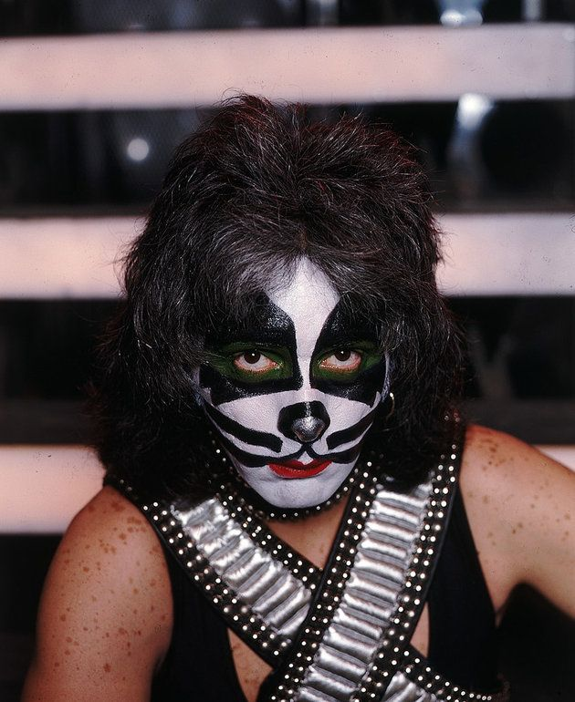 Peter Criss Makeup 1973 | Music Radar . com
