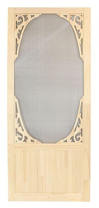 Porte moustiquaire en bois | Groupe BMR