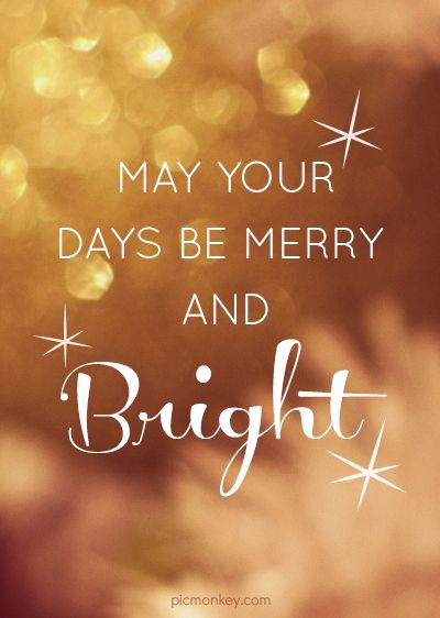 Hey Pinners! Create your own Pinterest image with your favorite holiday quote using PicMonkey.: