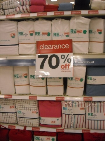 TargetSavers.com A website dedicated to clearance items at Target! Yes please!