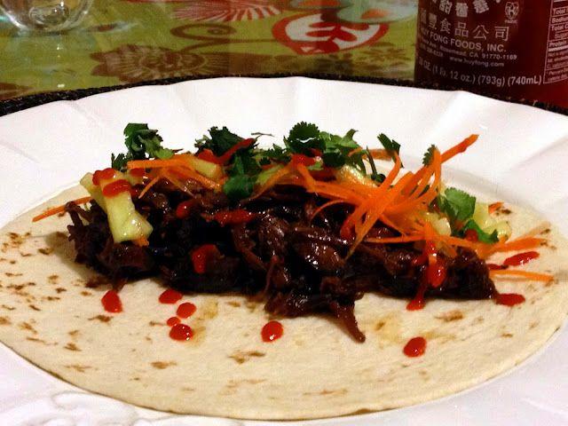 Crockpot Korean Short Rib Tacos