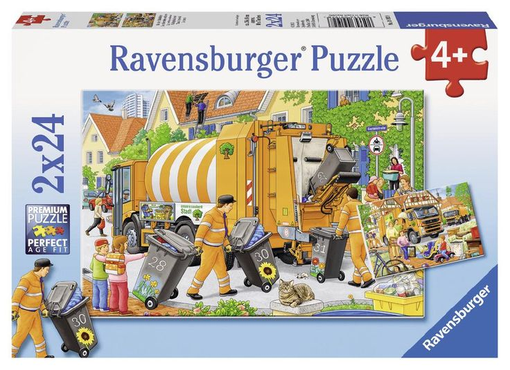 Kukásautó kirakók 2 x24 db (Ravensburger) | Pandatanoda.hu Játék webáruház