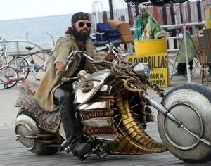 STEAMPUNK MOTORCYCLE. FROM MEN IN BLACK 3