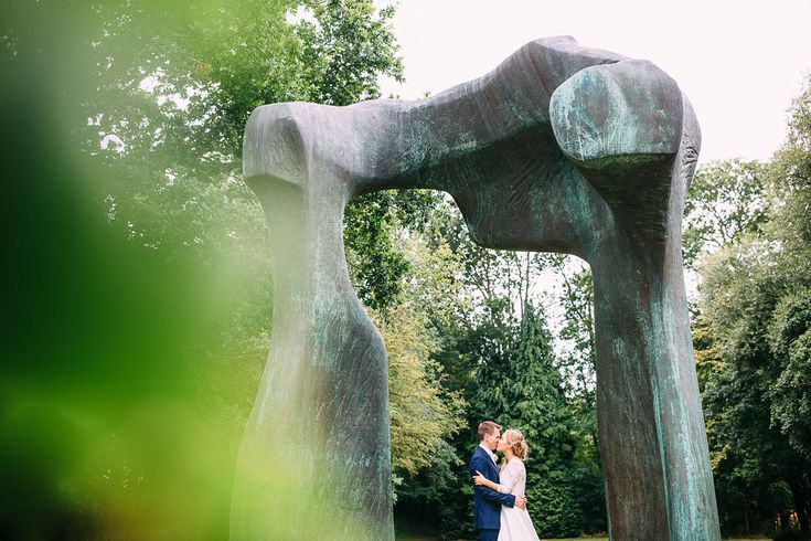 Henry Moore wedding photography from Allie and Jules's wedding in Hertfordshire. A beautiful sunny day they had a really fun wedding reception at this venue