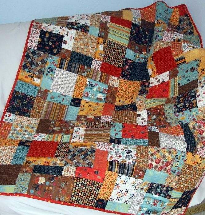 Twisted Nines Quilt Pattern 4 Sizes